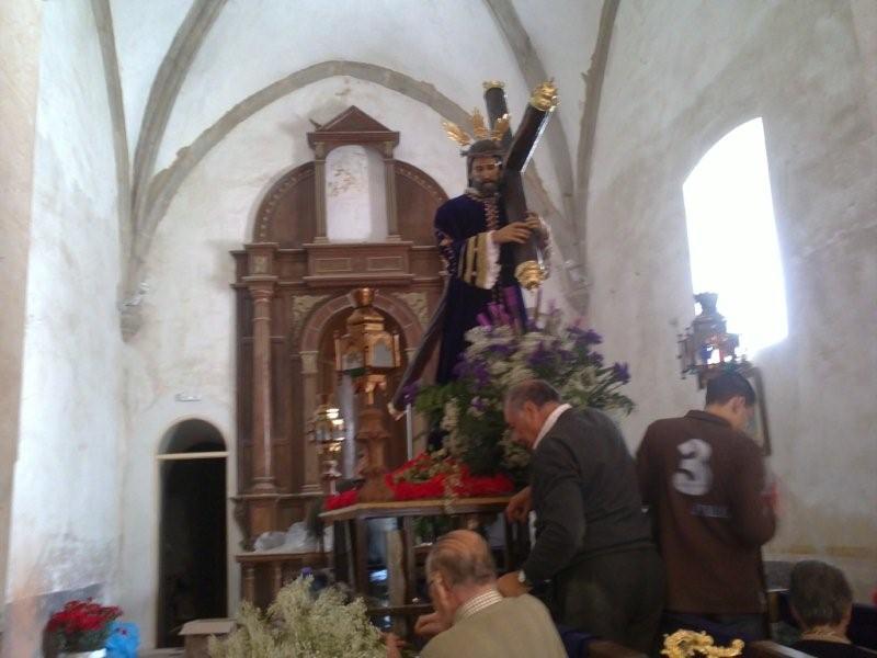 PROCESIÓN JUEVES SANTO (Preparando el paso Nazareno y Encuentro)