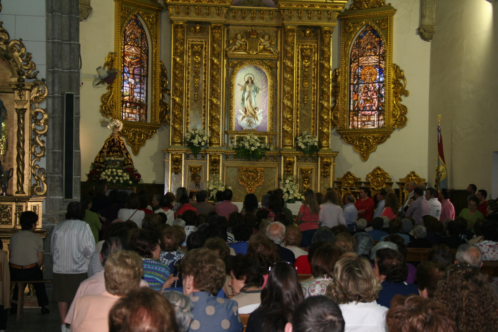 DESPEDIDA DE LA VIRGEN 2013